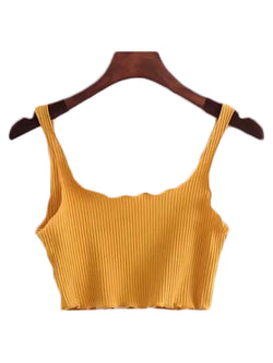 'Rylee' Strap Crop Top (5 Colors)