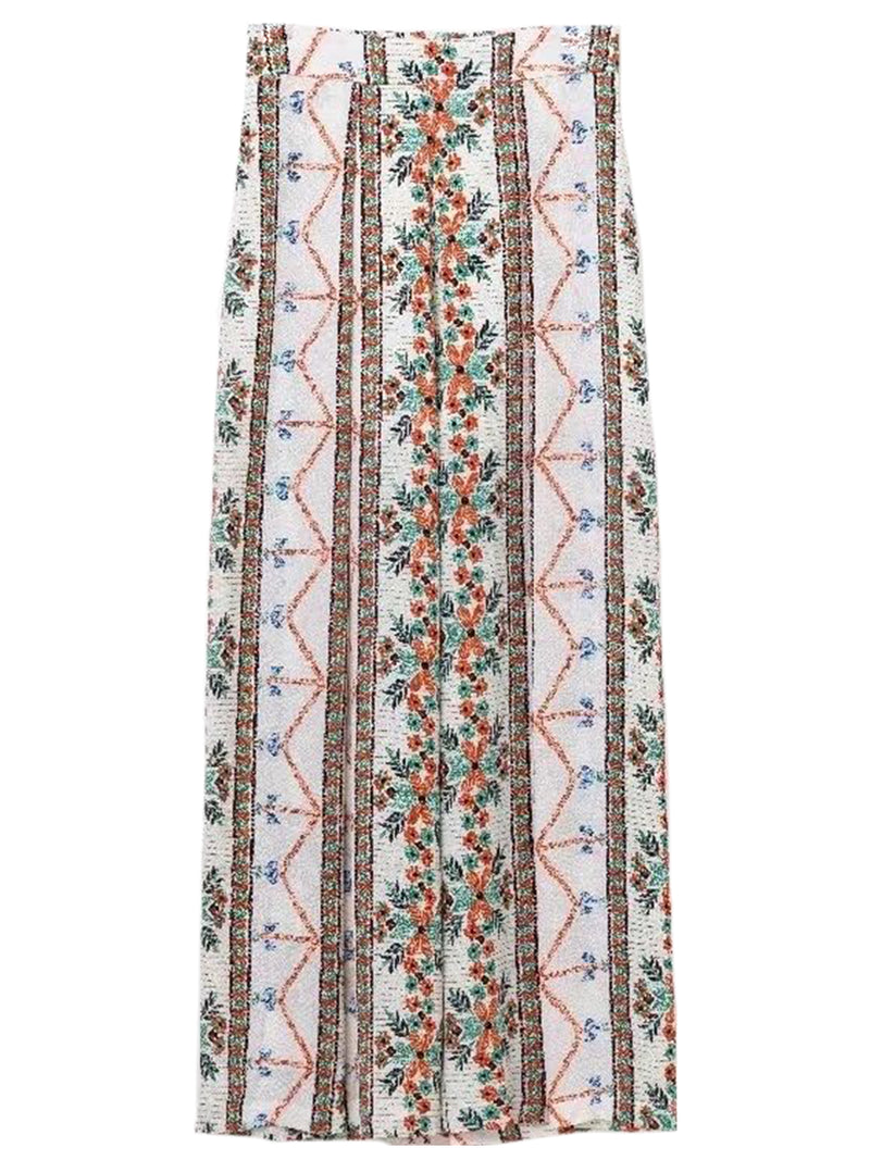 'Tilly' Embroidered Boho Pants