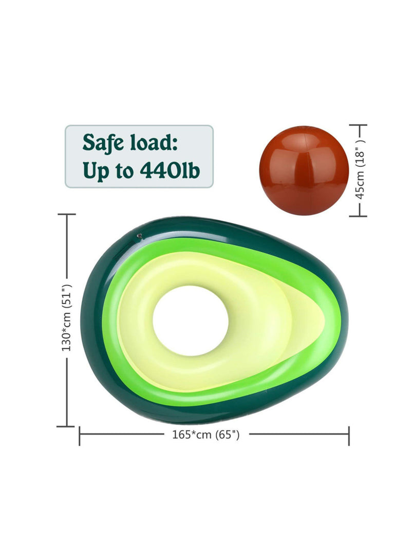 'Ava' Avocado Inflatable Float
