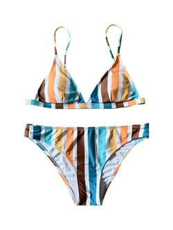 'Dumbo' Rainbow Striped Bikini