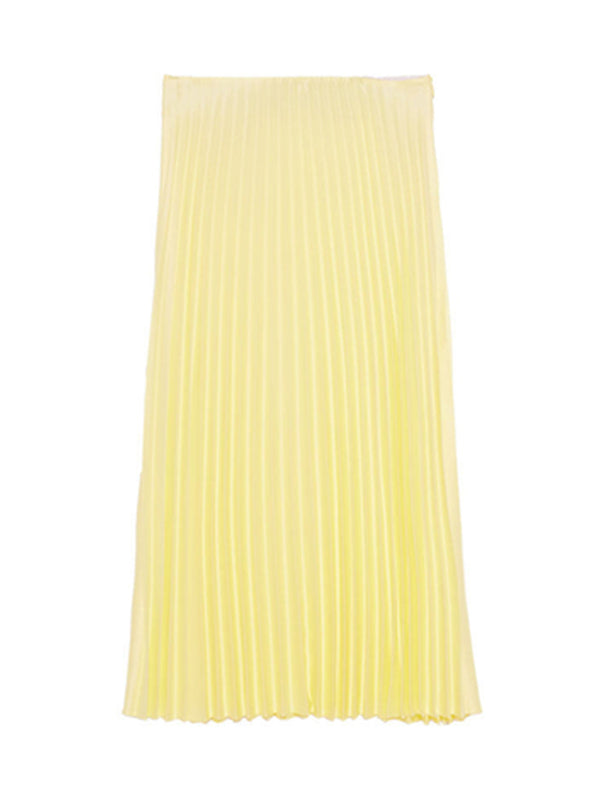 'Burt' Pleated Midi Skirt