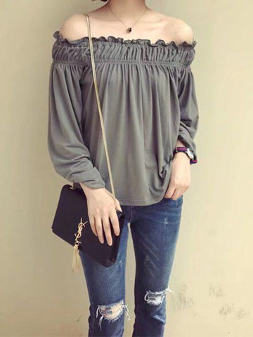 'Lisa' Off Shoulder Top
