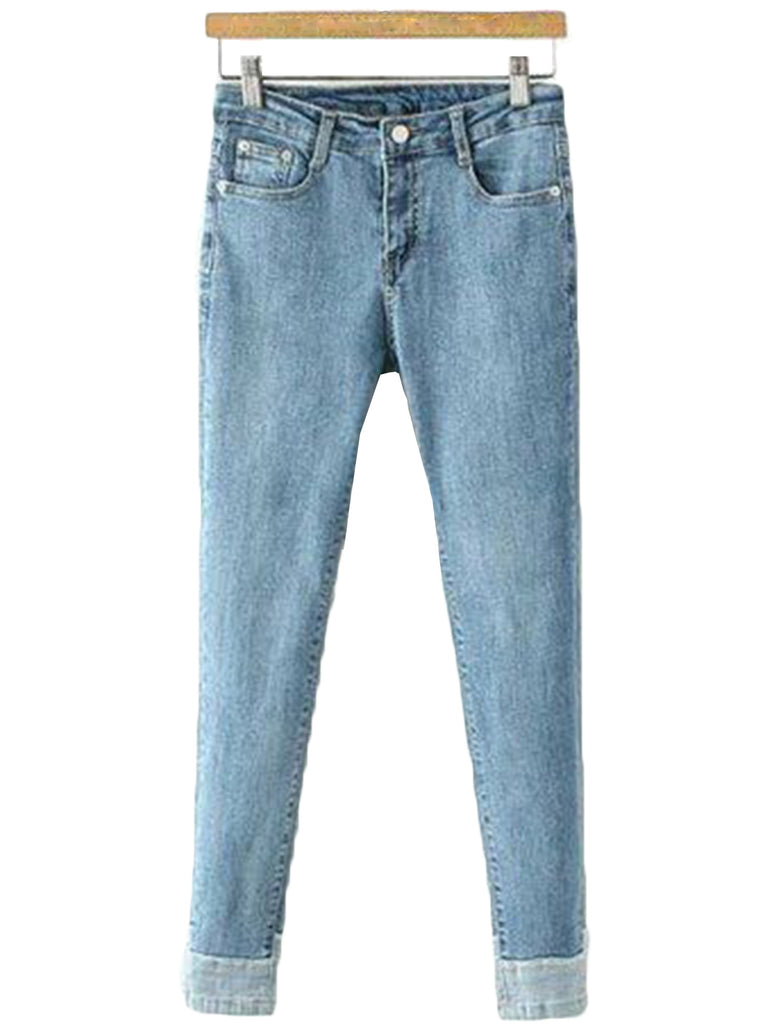 'Trilla' Roll-up Jeans