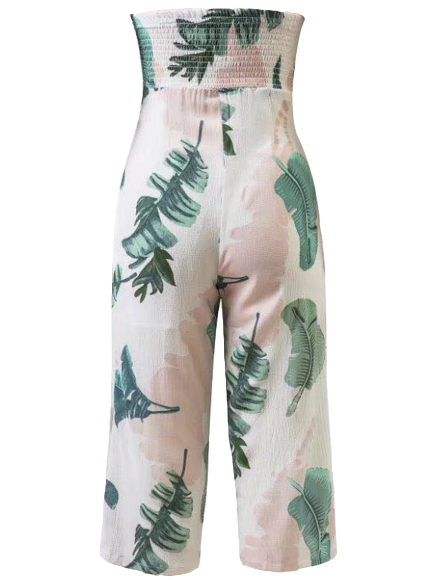 'Hunter' Tropical Print Low Cut Jumpsuit (3 Styles)