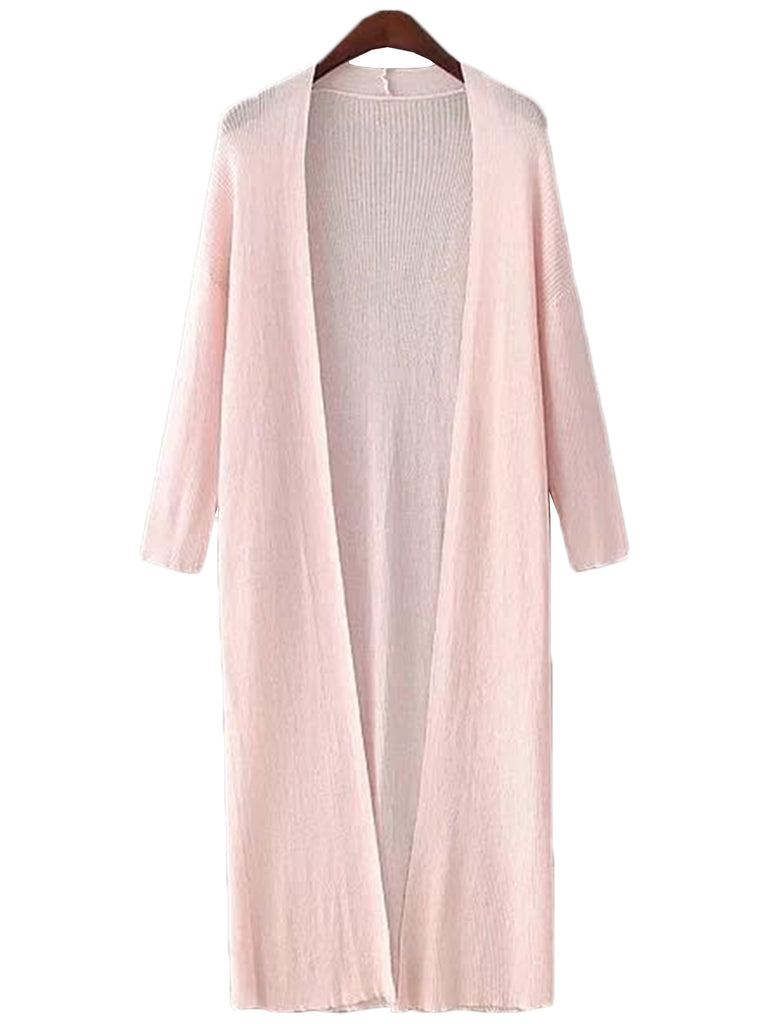 'Rayen' Long Open Cardigan