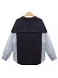 'Tara' Two Layers Mock Layer Shirt / Top