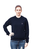 'Mini Anchor' Goodnight Macaroon x American Apparel Raglan Sweater Navy Blue 3