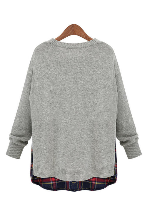 Goodnight Macaroon Gray Sweater Review Olivia Palermo