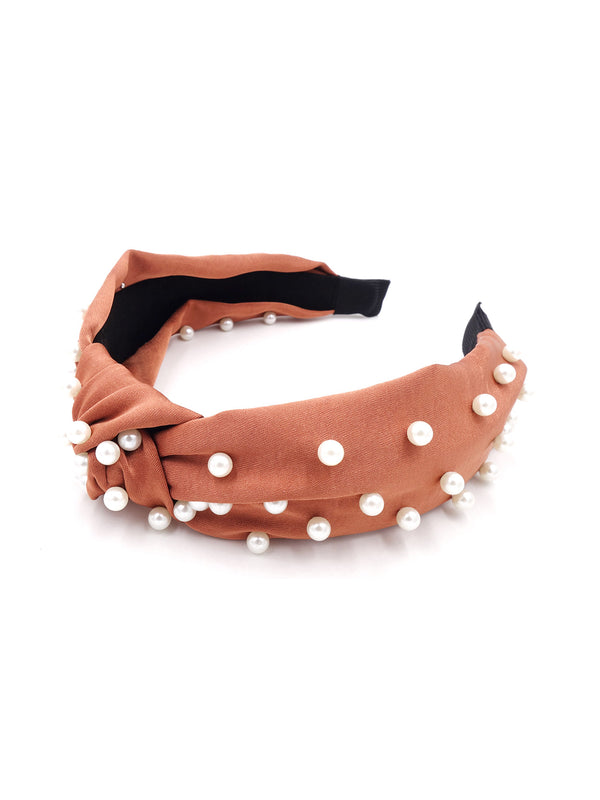 'Keira' Pearl Studded Headband (2 Colors)
