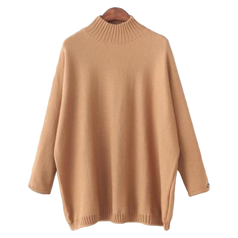 'Valeria' Mock Neck Sweater - 3 Colors