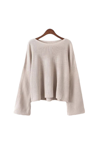 4 colors - 'Brianne' Basic Sweater