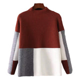 'Emmy' Color Block Sweater