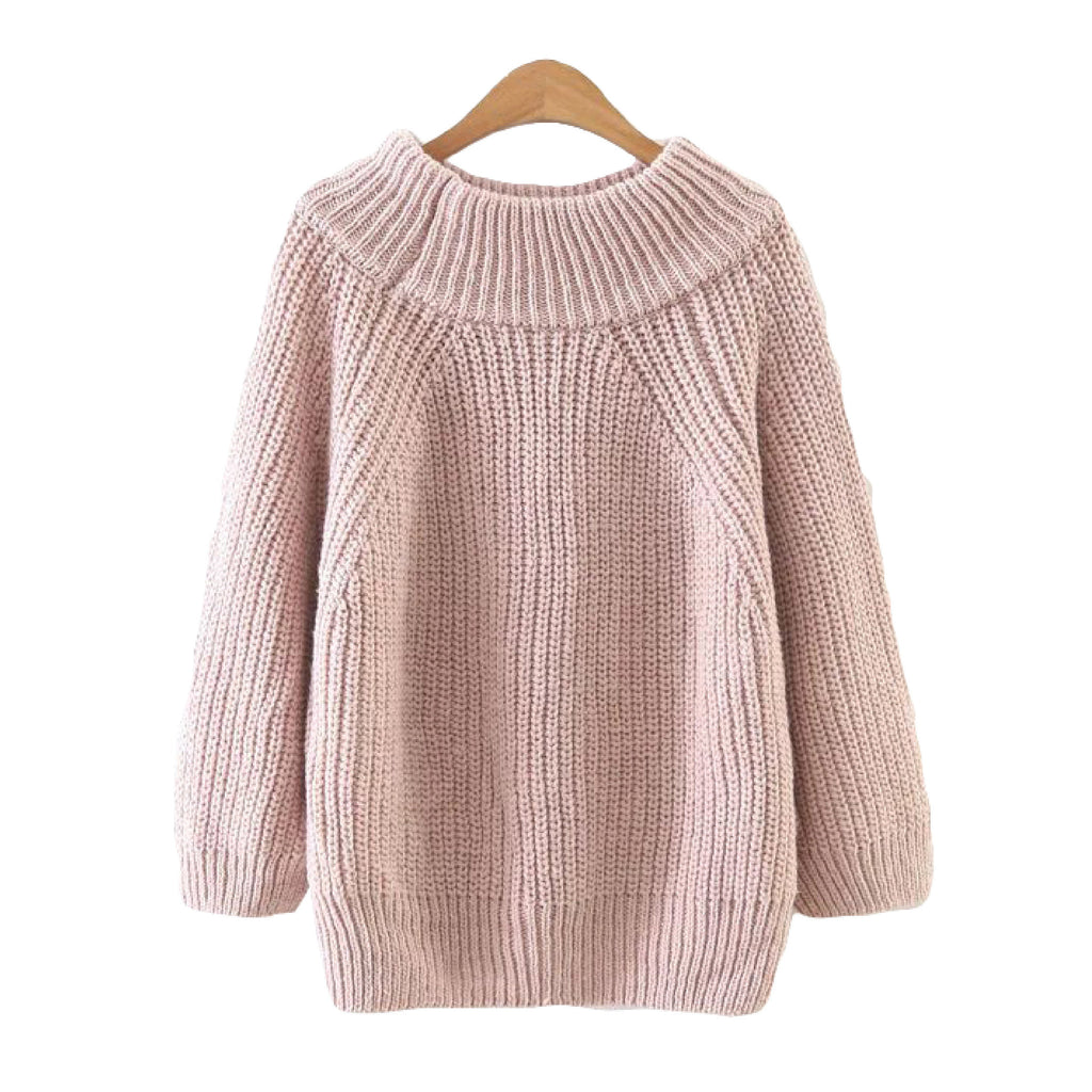 'Martha' Round Neck Sweater - 5 Beautiful Colors