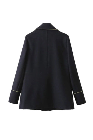 'Lauren' Preppy Navy Blue Blazer from Goodnight Macaroon