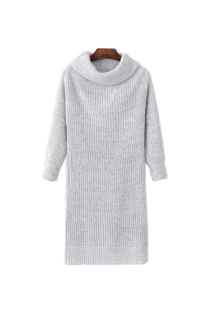 'Samantha' Off The Shoulder Knitted Dress - Goodnight Macaroon