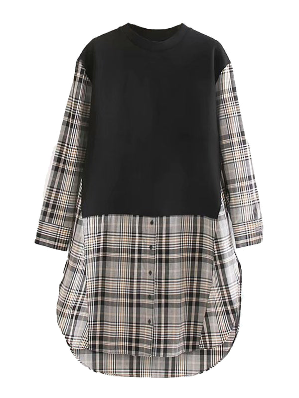 'Aries' Pullover Shirt Dress (3 Colors)