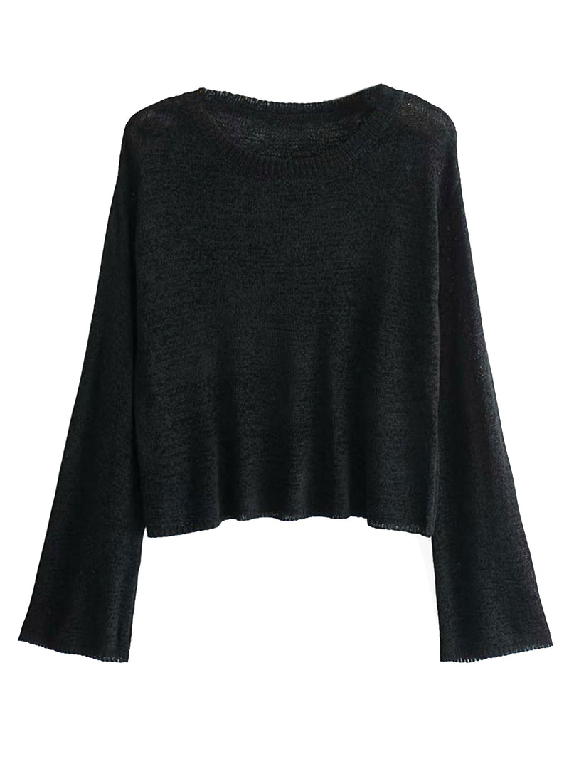'Suri' Light Weight Wide Sleeve Top (3 Colors)