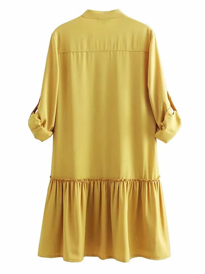 'Seneca' Pocket Shirt Dress (2 Colors)