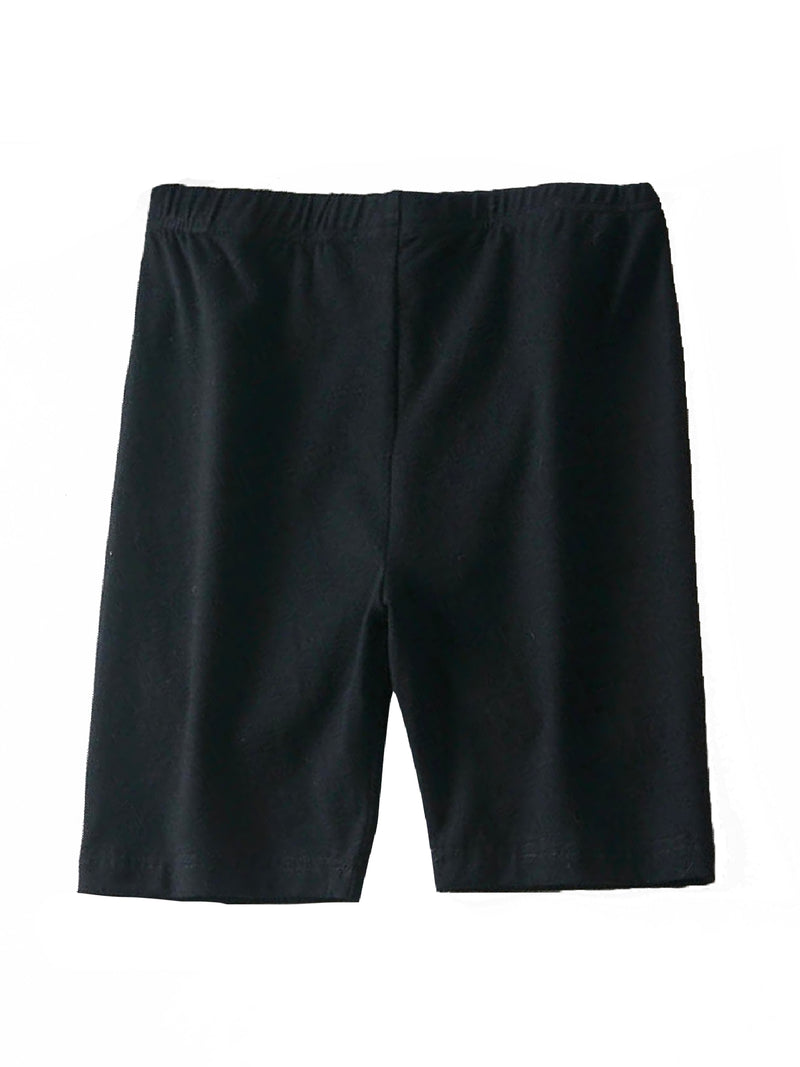 'Kim' Cotton-Blend Biker Shorts