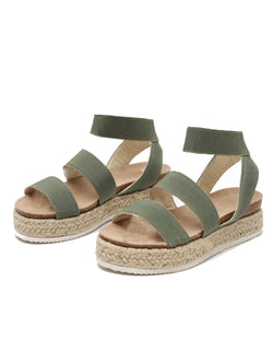 db14bada86d Vivian' Strapped Platform Espadrille Sandals (4 Colors) - Goodnight ...