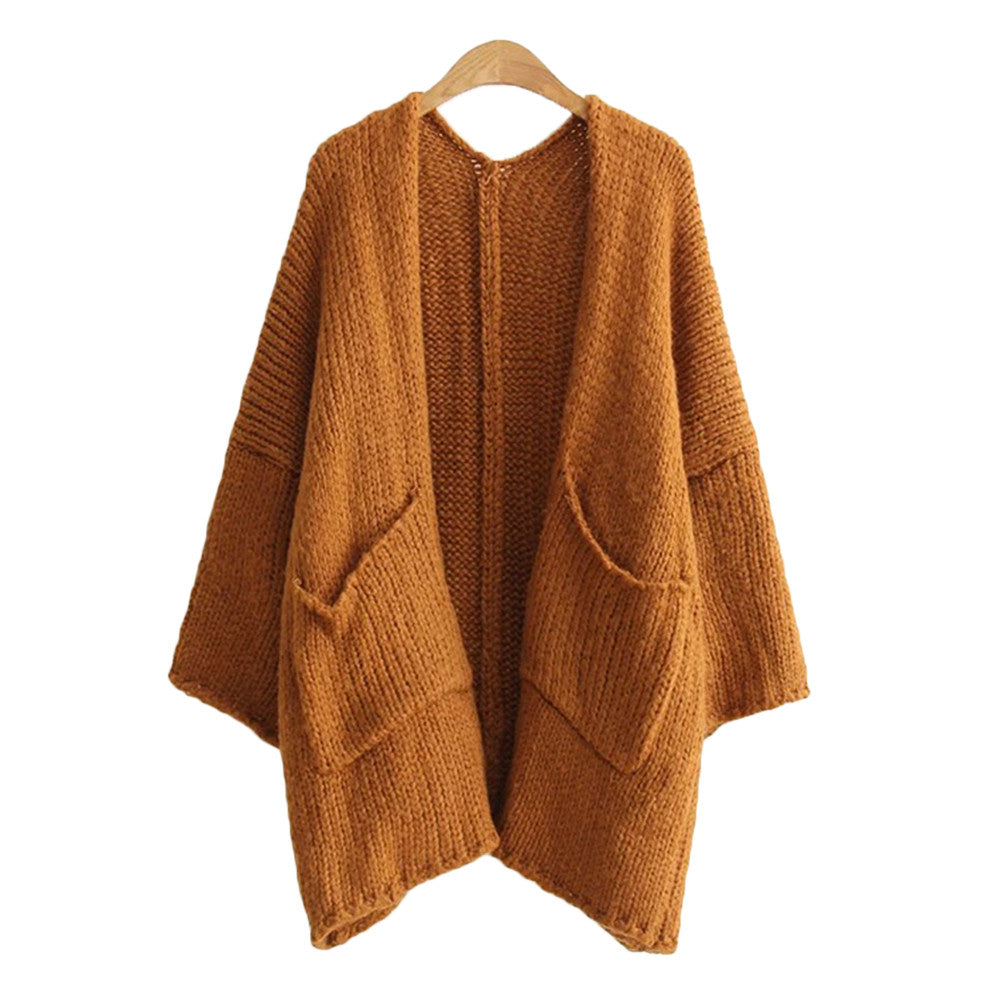 'Janet' Pocket Open Cardigan