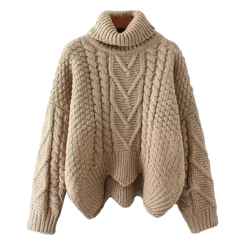 'Jolin' Turtleneck Knitted Sweater