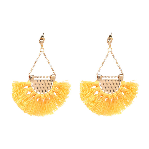 'Charlotta' Tassel Drop Earrings