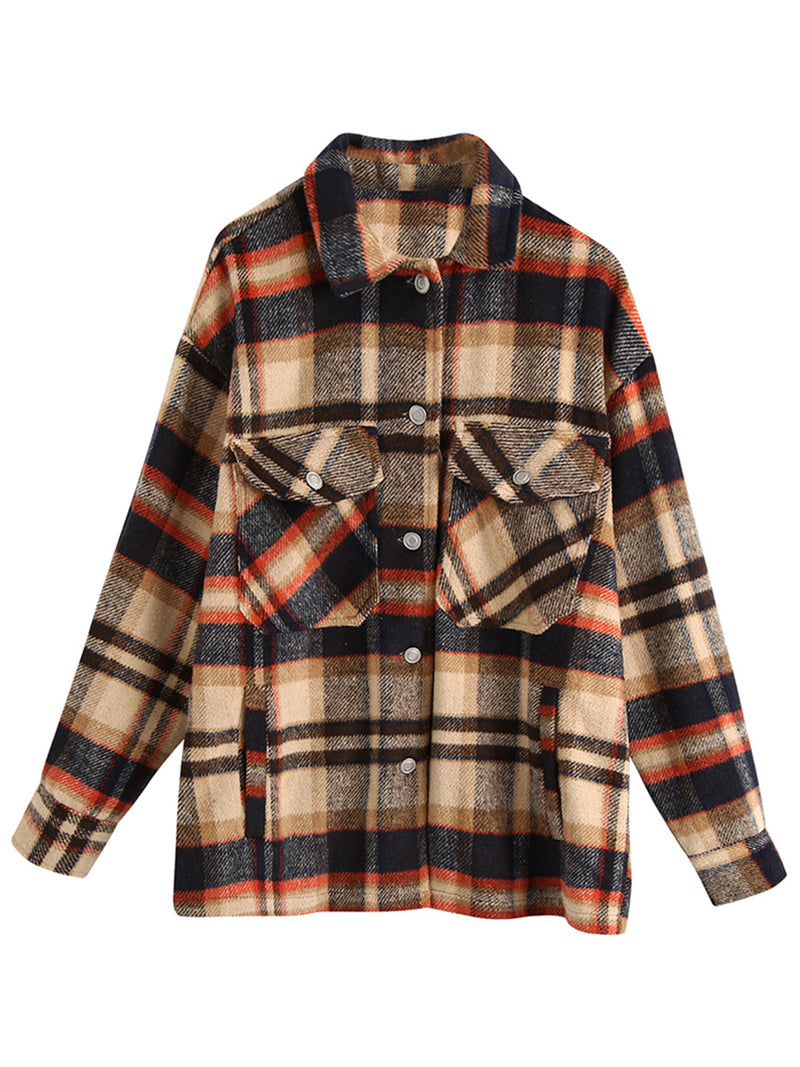 'Amanda' Thick Plaid Shirt