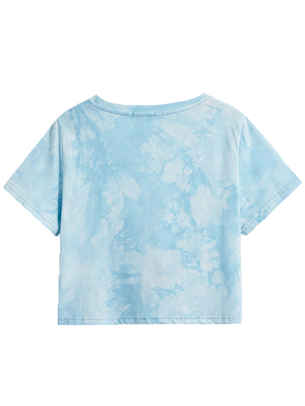 'Lesha' Tie Dye Twisted Top (3 Colors)