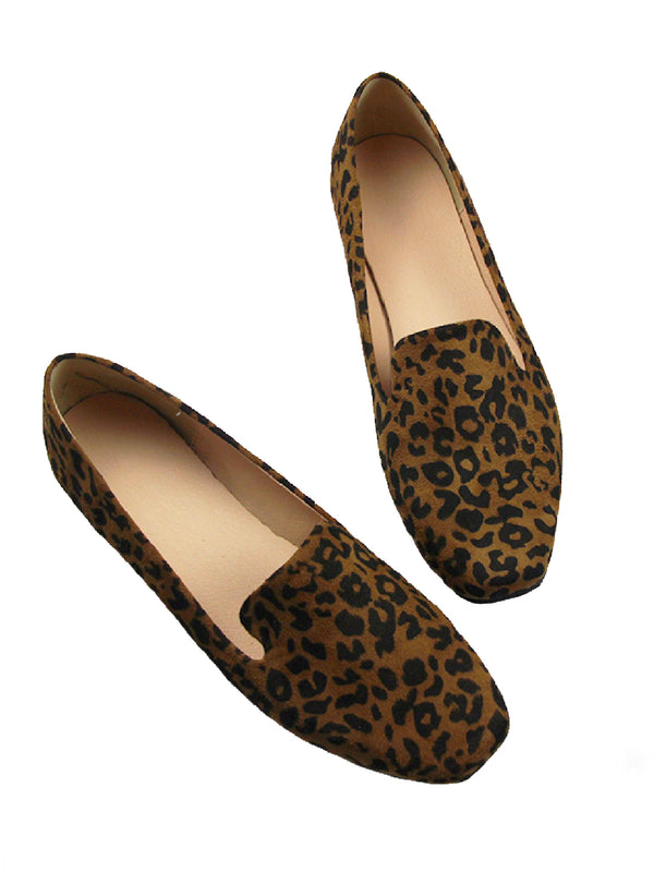 'Machie' Leopard Print Loafers (2 Colors)