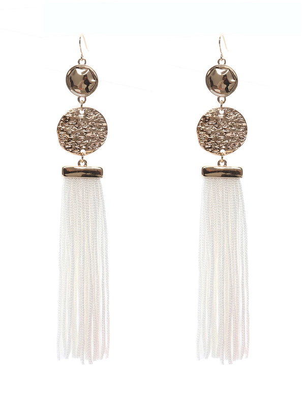 'Kamila' Tassel Drop Earrings (2 Colors)