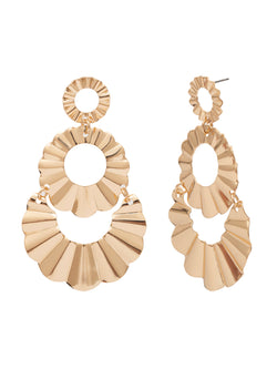 'Barry' Sunburst Drop Earrings (2 Colors)