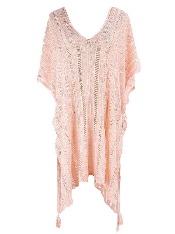 'Roxanne' Knitted Beach Cover-up (2 Colors)