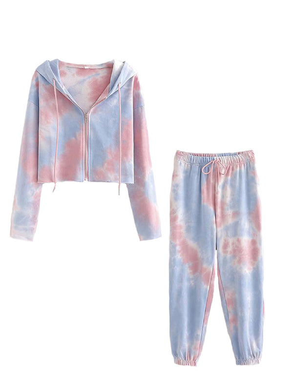 'Charlotte' Tie Dye Sports Co-ord