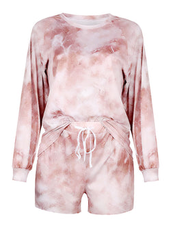 'Holli' Tie Dye PJ Co-ord