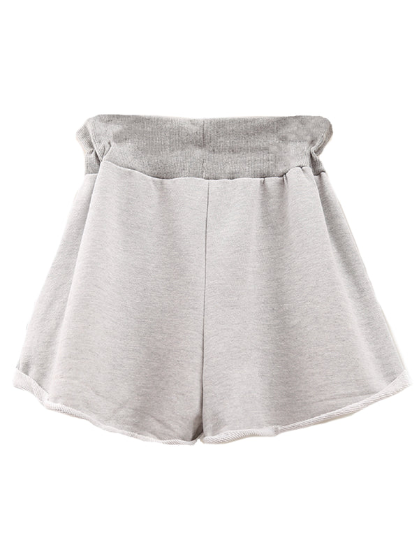 'Kelli' Buttoned Tied Waist Shorts