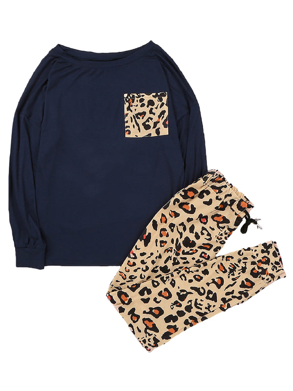 'Pardon' Leopard Print PJ Set (2 Colors)