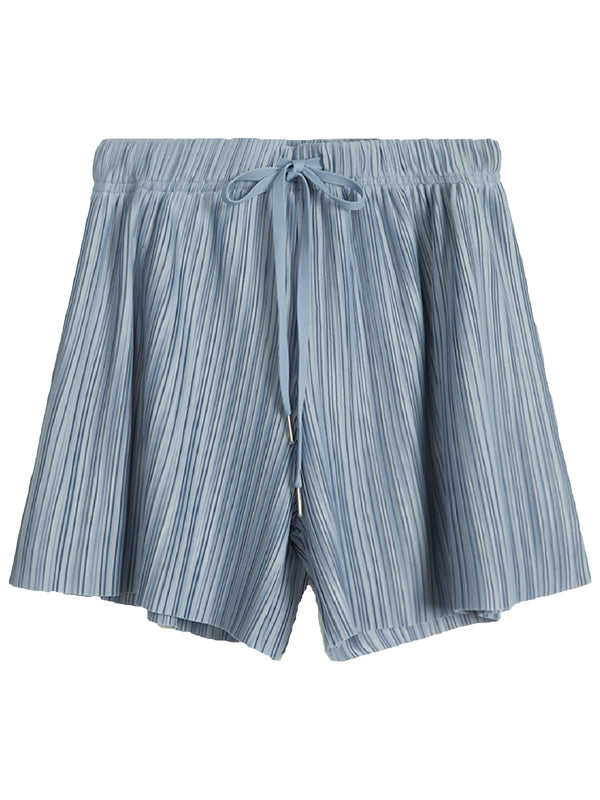 'Lensa' Pleated Drawstring Shorts (3 Colors)