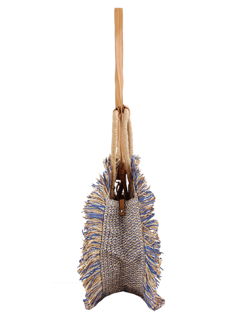 'Nada' Round Tassel Beach Bag (2 Colors)