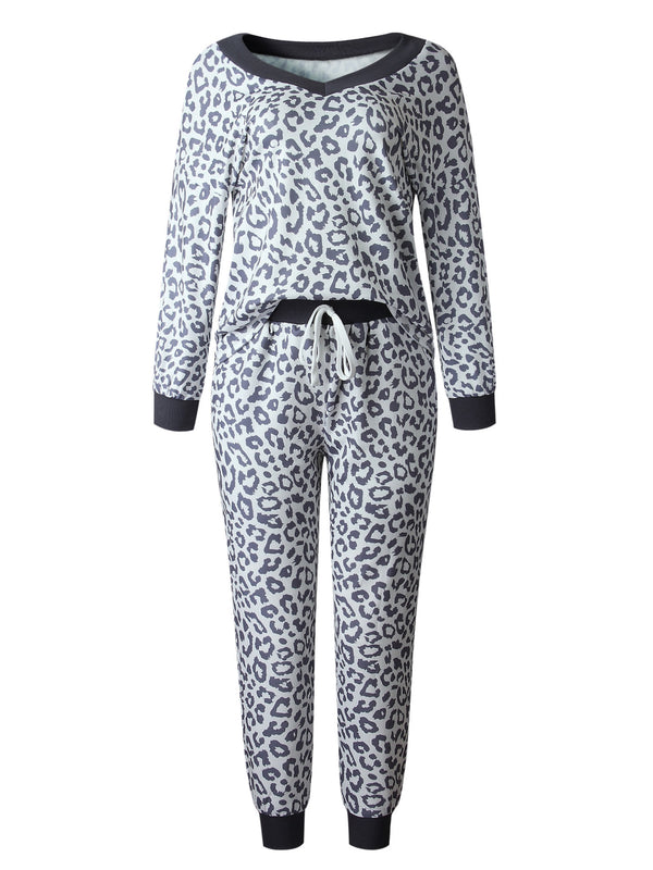 'Haylee' Leopard Print PJ Set (2 Colors)