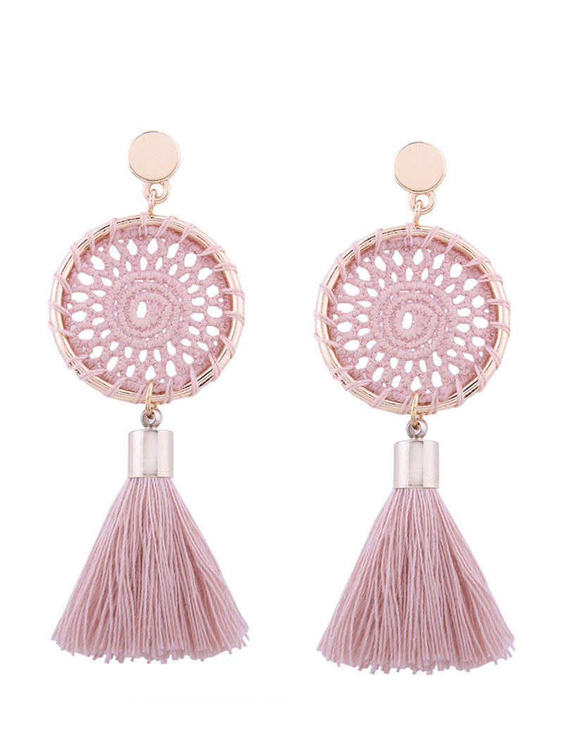 'Esther' Bohemian Tassel Earrings (5 Colors)