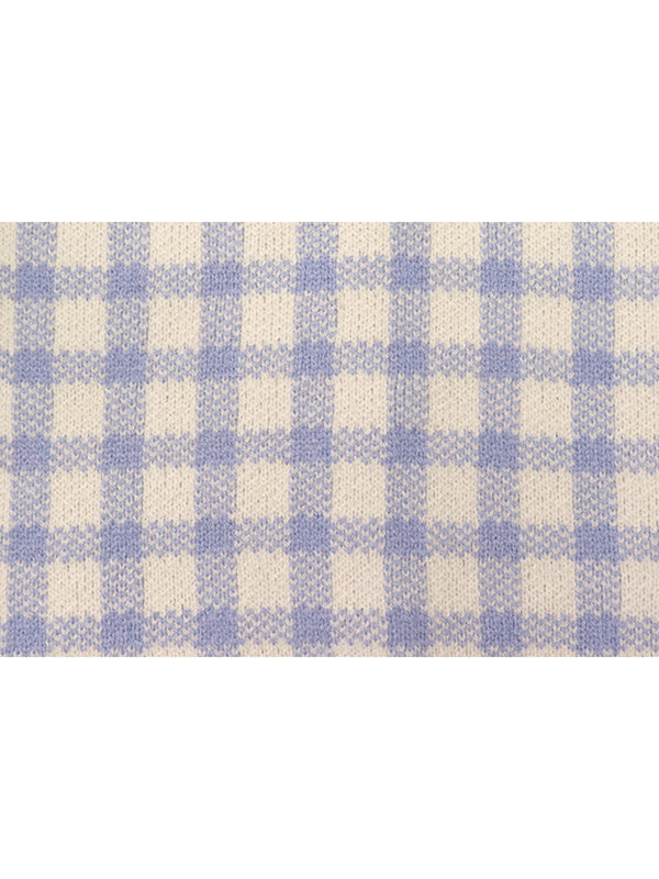 'Ginny' Checked Buttoned Cardigan (2 Colors)