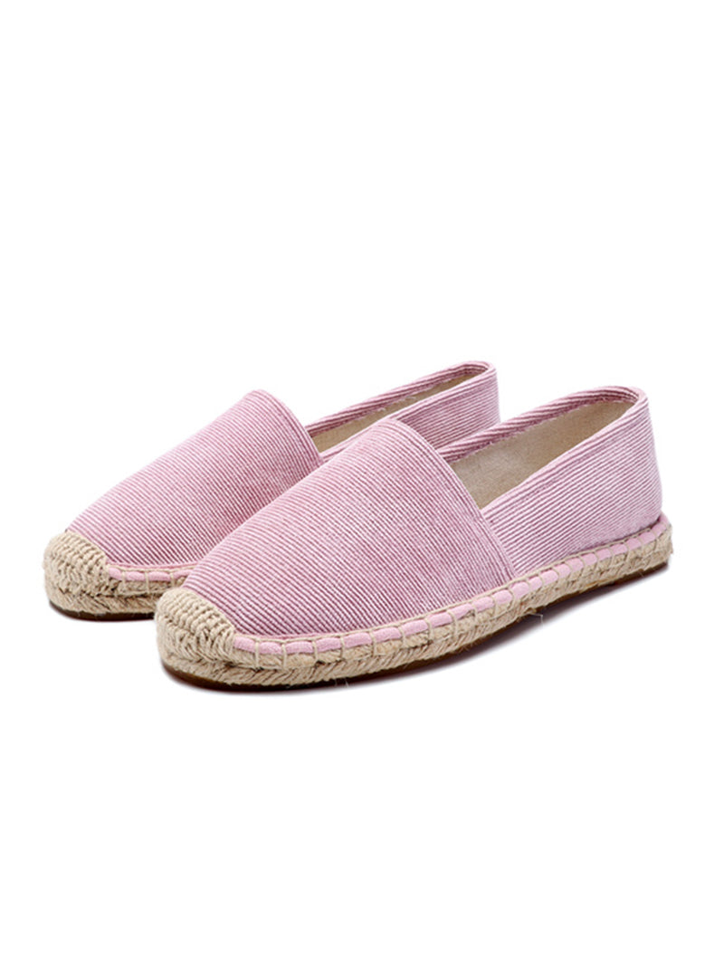 'Melody' Striped Espadrilles (3 Colors)
