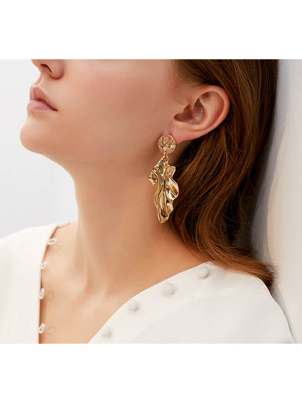 'Fiona' Irregular Shaped Drop Earrings
