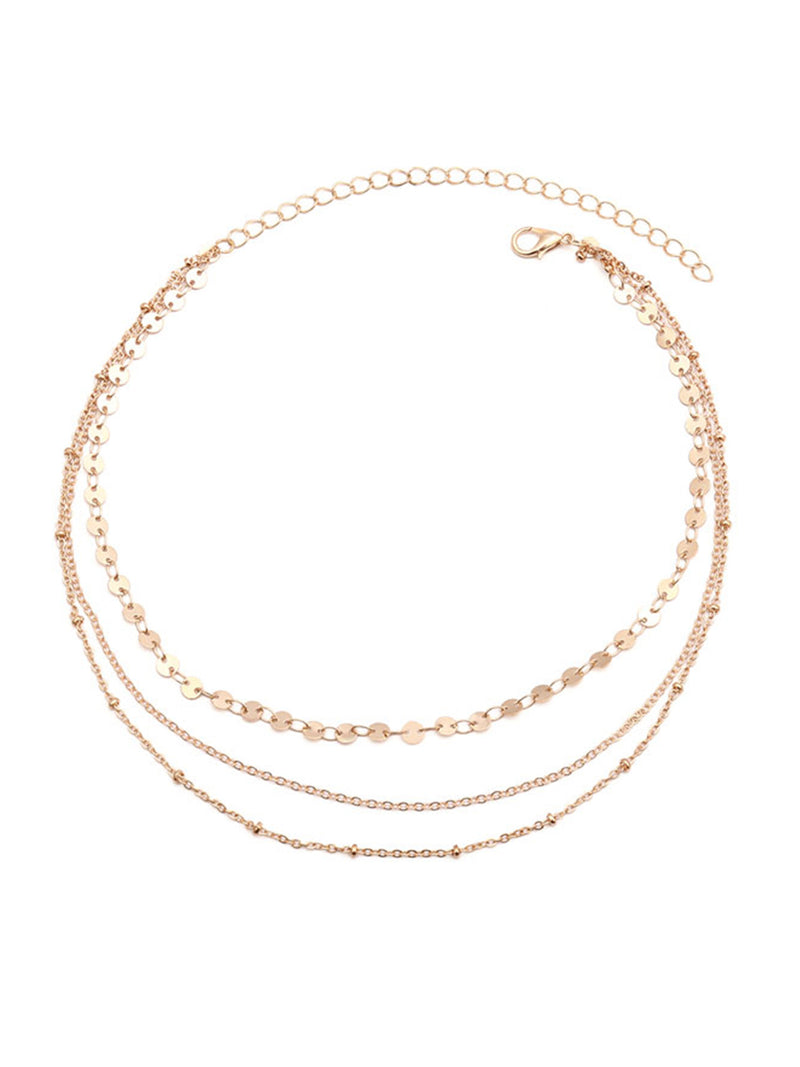 'Jasmine' layered Necklace (2 Colors)