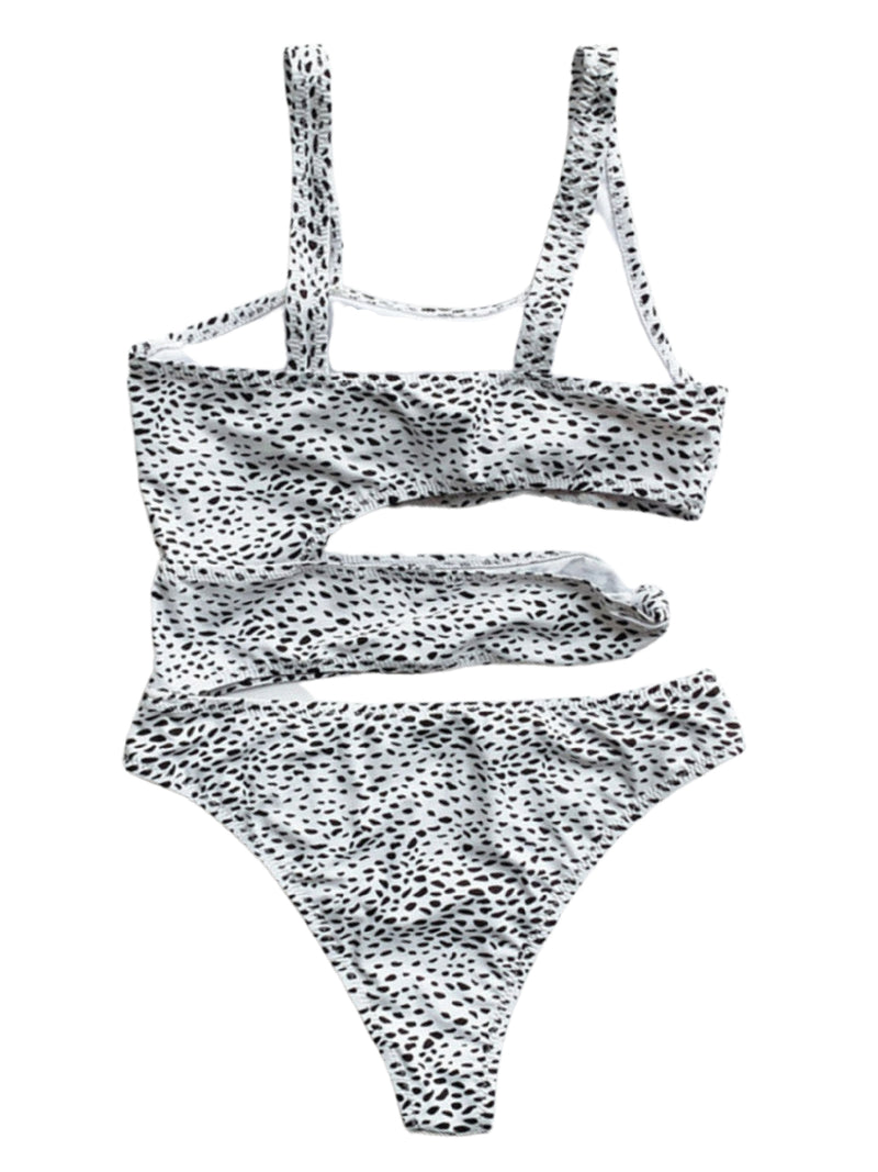 'Jessie' Animal Print One Pice Swimsuit (2 Colors)