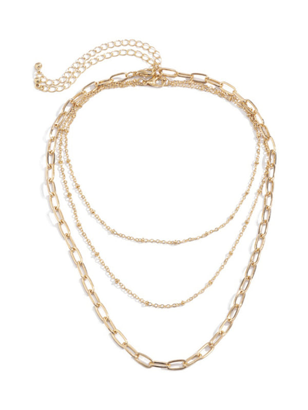 'Elana' layered Chain Necklace
