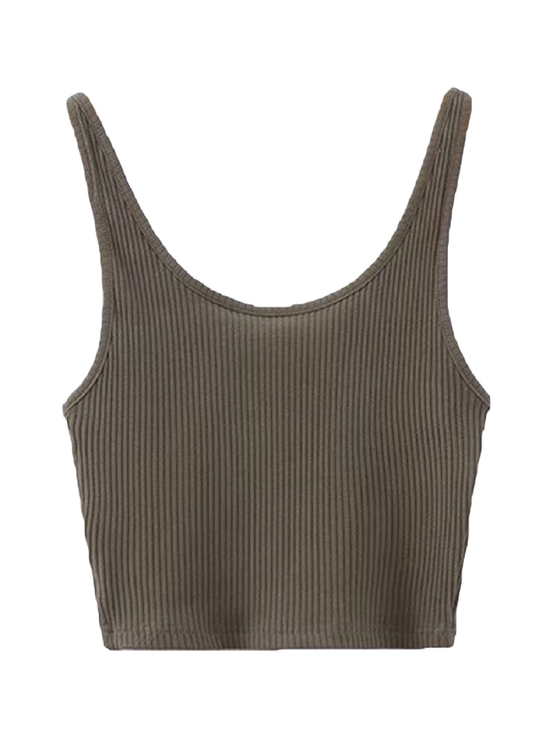 'Christy' Ribbed Cami Top (5 Colors)