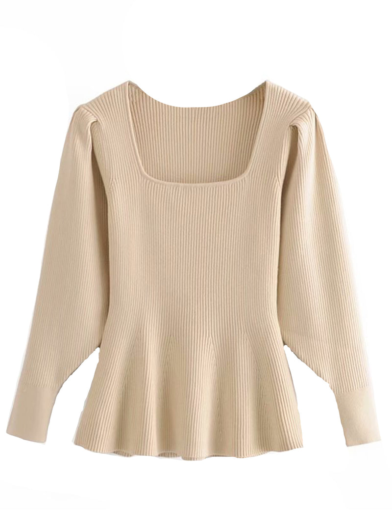 'Gabriela' Square Neck Top (2 Colors)