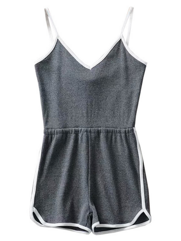 'Nicky' V-Neck Sleeveless Romer (3 Color)
